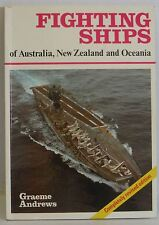 Fighting Ships AU NZ Graeme Andrews Military War reference book Illustrated 1980