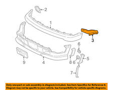 Chevrolet GM OEM 98-04 S10 Front Bumper-Outer Brace Right 15716714