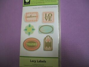 LACY LABELS CRICUT LITE  CARTRIDGE - IN ORIGINAL BOX WITH  INSTRUCTION BOOKLET