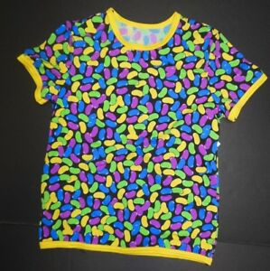 NWT Jelly Bean Dance Print spandex short sleeve lycra pullover Unisex Child szes