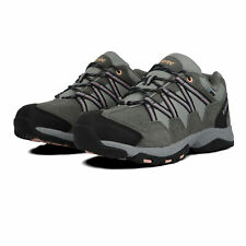 Hi-Tec Womens Rambler WP Hiking Shoes - Grey Sports Outdoors Waterproof