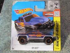 Hot Wheels 2015 # 116/250 Fuera de servicio Azul HW todoterreno