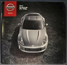 2013 Nissan 370Z Brochure Convertible Touring Coupe Nismo Excellent Original 13
