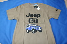 NWT Uniqlo UT The Brands Outdoor Jeep CJ7 Wrangler Shirt Khaki Sz Large