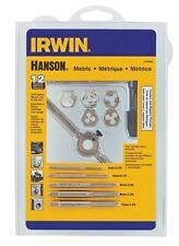 Irwin 1765541 Tap and Die Set, High Carbon Steel, 12 Piece
