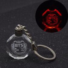 Kpop BTS Porte-clé Lumineux Couleur Varié Accessories Fans Cadeau Idéal Décor