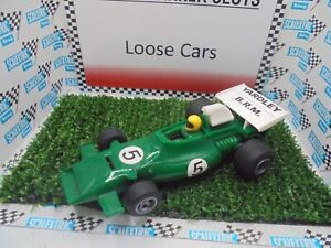 """Scalextric C051 BRM F1 """"Yardley"""" green  #5 Excellent  unboxed bargain"""