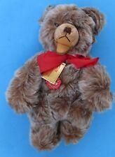 Hermann Original 84/35 Brown/silver Mink Plush Teddy Bear