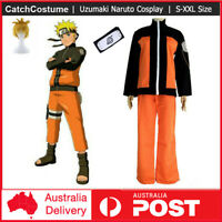 Uzumaki Naruto Anime Naruto Shippuden Cosplay Book Week Party Costume+Headband