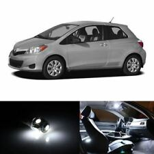 10x White Interior LED Lights Package Kit Fits 2006-2012 Toyota Yaris #A91