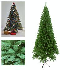 J-Living 7Ft Christmas Tree Colorado Spruce Metal Stand Xmas Bushy Pine Branches