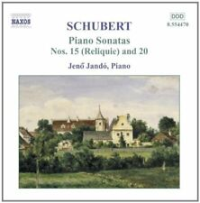 JANDO - SCHUBERT: PNO SON NOS 15 and 20 [CD]
