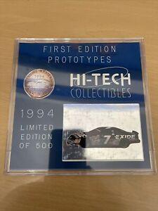 NASCAR 1994 Hi-Tech Racing Masters #7 GEOFF BODINE Set LE 500 Silver Coin +