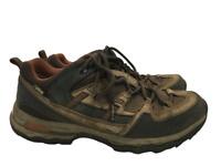 L.L. Bean Mens Hiking Shoes Style 290564 Brown Goretex Vertigrip US Size 8M