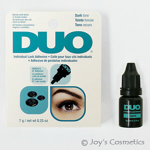 1 DUO Individual Lash Adhesive Waterproof Eyelashes glue - Dark Tone *Joy's*