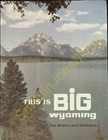 Vintage Travel Brochure This is Big Wyoming State Travel Magazine 60's? #2