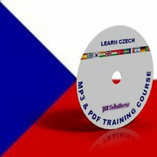 Learn To Speak Czech Language Course DVD, MP3 & PDF, language of Czechoslovakia