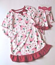 Jumping Beans Ruffle Girl Elf Nightgown Pajama Dress American 18 Inch Doll  Set 6 9230d3a5a