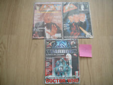 DOCTOR WHO 3x TV ZONE MAGS ~ 35TH ANNIV~JON PERTWEE 1970s~HARTNELL~TROUGHTON