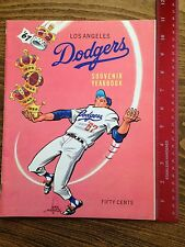 1967 Los Angeles Dodgers Yearbook Celebrating Team's Tenth Year in LA