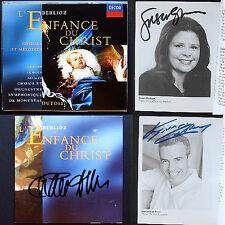 DUTOIT GRAHAM LE ROUX Signed BERLIOZ L'enfance Du Christ 2CD Ainsley Susan