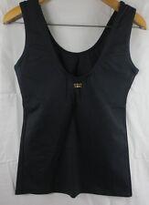 Leos Dancewear Scoop Neck Tank Top Black Medium 512E Y016