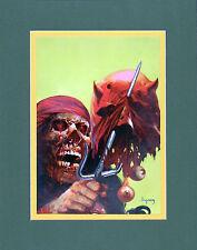 Arthur Suydam DAREDEVIL #179 COVER MATTED PRINT Marvel Zombies Venom