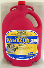 PANACUR 25 ORAL DRENCH FOR SHEEP CATTLE AND GOATS 5 Litre