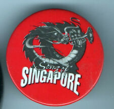 1991 old DRAGON Pin Song of  SINGAPORE Trumpet MUSICAL Comedy OFF Broadway