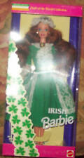 1995 DOTW Irish Barbie MIB