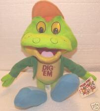 Dig'Em The Frog Kellogs Plush Figure! Brand New!