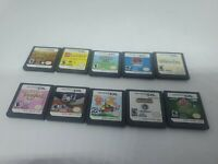 Lot of 10 Nintendo DS Games( DS) Tested/ Works