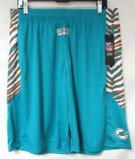 Zubaz Miami Dolphins Mens Size X-Large Shorts with Zebra Accent C1 1343