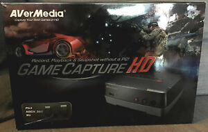 Avermedia Game capture HD Pour PS3 Xbox360 Wii