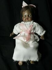 1968 Horsman Dolls Inc African American Girl GIGGLES Doll Baby & orginal clothes