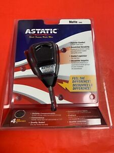 Astatic 636L-MATTE WITH RUBBER CORD  Microphone NEW