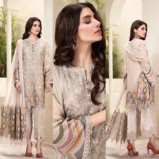 Pakistani Jazmin DESIGNER Suit Wedding Dress Chiffon Shalwar Kameez 2020 Eid