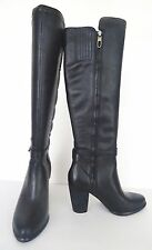 NIB Ugg Australia Claudine Tall High Leather Boot Boots Heel Sz 5 M Black $300