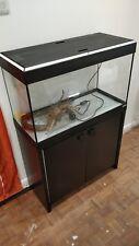 Fluval Roma 125 Litre Aquarium Fish Tank & Cabinet - Black