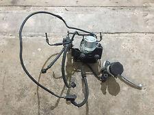 BMW K1200S 06/07 Complete front brake master cylinder lever abs controller pipes