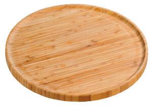 KESPER 58463 Pizzateller 32 cm aus FSC-zertifiziertem Bambus / Holzteller / P...