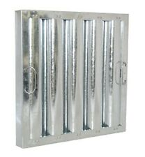 16X25 Galvanized Flame Guard Commercial Hood Grease Filter (Packed 6 In A Box)