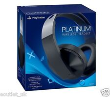Official Licensed Sony Platinum Casque stéréo sans fil Playstation 4 PS4 NEUF