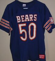 Vintage 1980s Chicago Bears Mike Singletary NFL Rawlings #50 Jersey XL