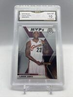 2019 20 PANINI MOSAIC LEBRON JAMES #298 MVP'S  GMA 10 GEM MINT