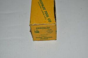^^ GREENLEE 5002410.8 730 17.4MM ROUND RADIO CHASSIS PUNCH (KB120)