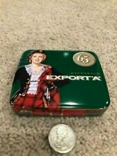 Green 20's Macdonald Export 'A' 65 Yr Anniversary Cigarette Tin NEVER USED Small