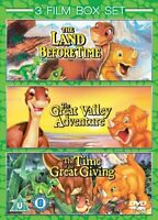 The Land Before Time 1-3 [DVD] Box Set  NEW & SEALED  T