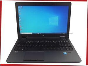 "15.6"" HP ZBook 15 Workstation Intel i7 Quad 16GB 240GB SSD Win10 Gaming Laptop"