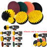 8Piece Electric Drill Grout Power Scrubber Cleaning Brush Tub Cleaner Tool Lot